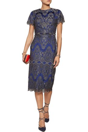 CATHERINE DEANE Gwyn embroidered tulle dress