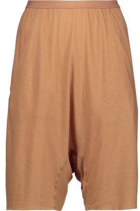 RICK OWENS Lilies stretch-jersey shorts