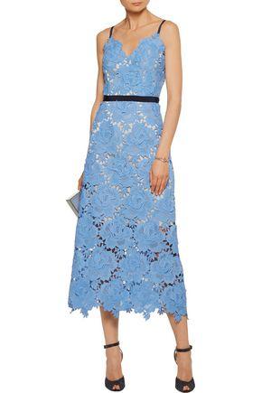 1ef737078cda CATHERINE DEANE Frida guipure lace midi dress