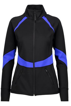 PURITY ACTIVE Two-tone stretch jacket