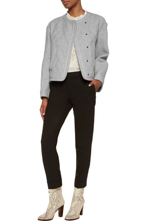 CHLOÉ Quilted silk-blend jacket