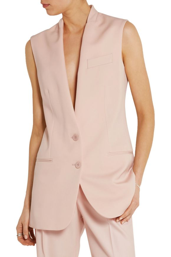Ernest wool-crepe vest | STELLA McCARTNEY | Sale up to 70% off | THE OUTNET