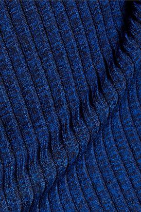 MAJE Pidette marled rib-knit dress