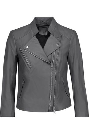 JOIE Casella leather biker jacket
