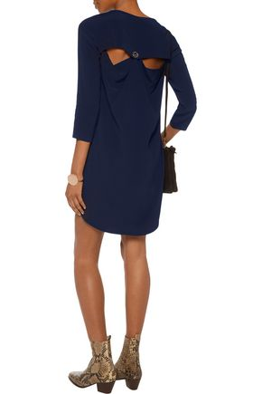 SANDRO Ralene cutout crepe mini dress