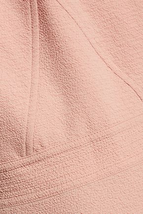 SANDRO Rozo cutout cloqué mini dress