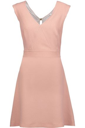 SANDRO Rozo cutout crepe mini dress