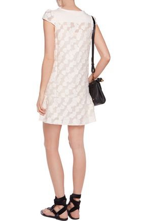 SEE BY CHLOÉ Fil coupé jacquard mini dress