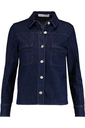 SEE BY CHLOÉ Embroidered denim jacket