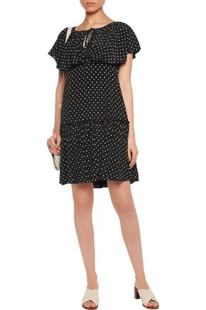 SEE BY CHLOÉ Floral-print crepe de chine dress