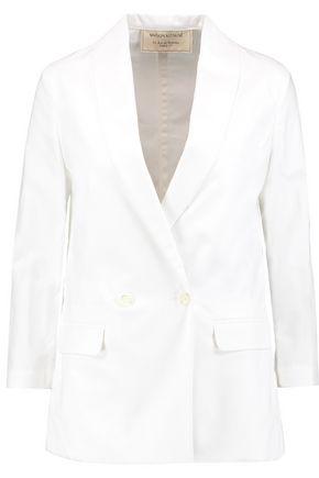MAISON KITSUNÉ Shawl collar cotton-piqué blazer