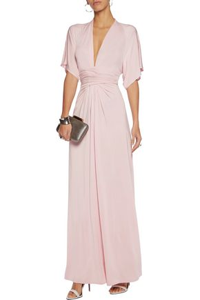 RAOUL Stretch-satin jersey gown