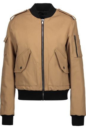 MSGM Cotton-canvas bomber jacket