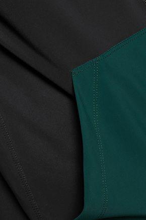 NO KA 'OI Wehe color-block striped stretch jacket