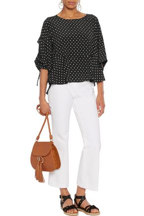 SEE BY CHLOÉ Printed crepe de chine top
