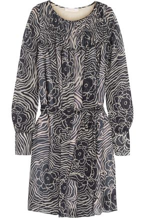 SEE BY CHLOÉ Printed silk-georgette mini dress