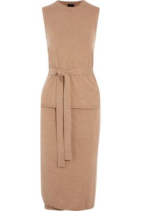JOSEPH Amma belted cashmere midi dress