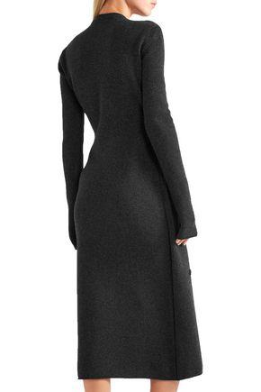 JOSEPH Fati stretch-wool midi dress