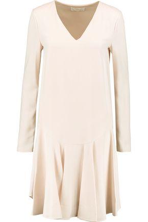 CHLOÉ Pleated crepe dress