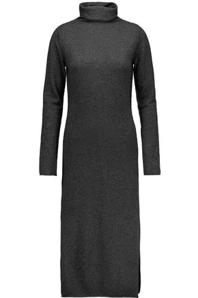 LINE Claudia merino wool and cashmere-blend turtleneck sweater dress
