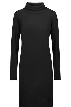 LINE Lawrence merino wool and cashmere-blend dress