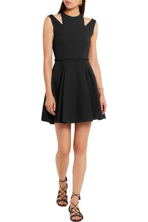 GIAMBATTISTA VALLI Cutout stretch-knit mini dress