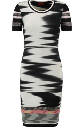 MISSONI Knitted wool-blend dress