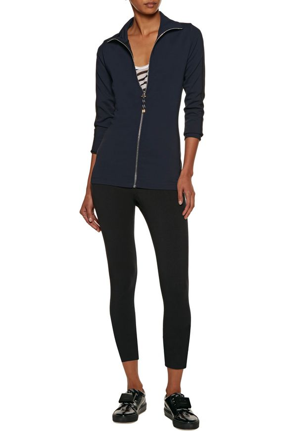 Faya two-tone stretch-jersey jacket | ACNE STUDIOS | Sale up to 70% off |  THE OUTNET