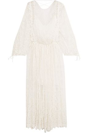 ZIMMERMANN Alchemy broderie anglaise silk-georgette dress
