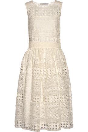 PHILOSOPHY di LORENZO SERAFINI Cotton-lace midi dress