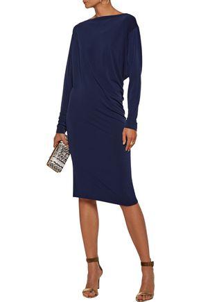 BY MALENE BIRGER Finae draped stretch-crepe dress