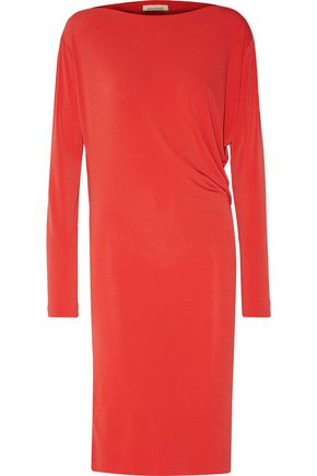 BY MALENE BIRGER Finae draped stretch-crepe dress
