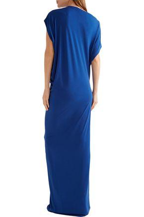 BY MALENE BIRGER Nasalio draped stretch-crepe maxi dress
