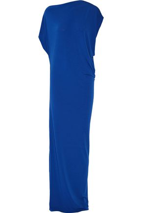 BY MALENE BIRGER Nasalio draped stretch-crepe maxi dress