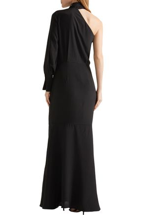 BY MALENE BIRGER Milusia one-shoulder silk crepe de chine gown