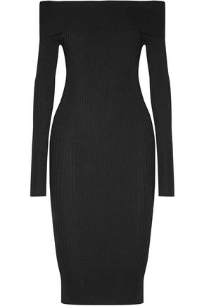 BY MALENE BIRGER Hoppes ribbed stretch-knit dress