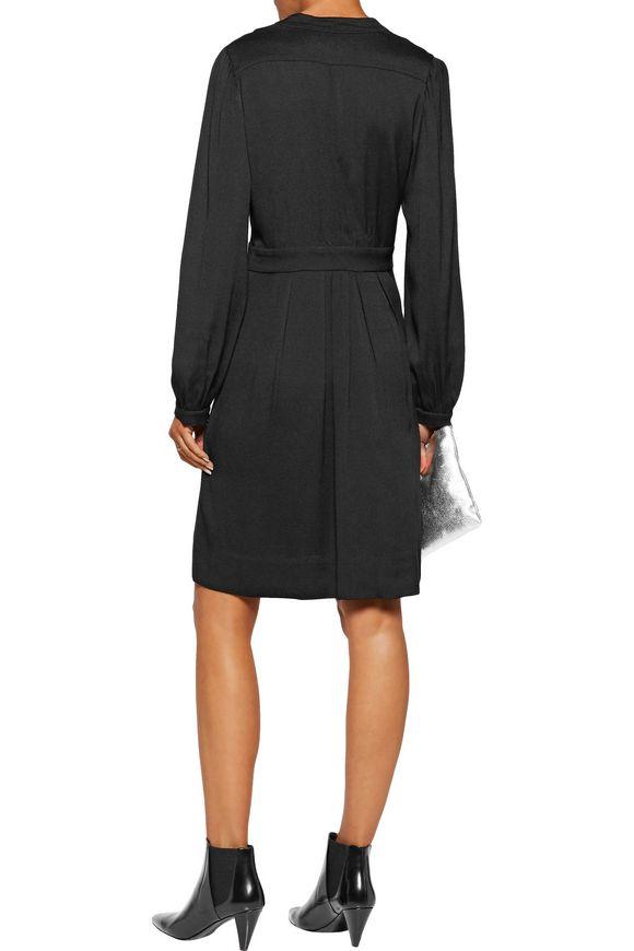 0695831f34 Neil pleated crepe dress   ISABEL MARANT ÉTOILE   Sale up to 70% off ...