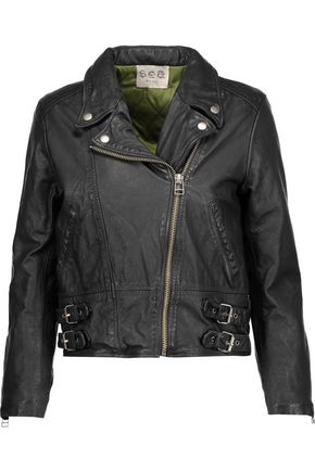 SEA Leather biker jacket