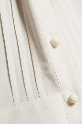 PHILOSOPHY di LORENZO SERAFINI Pleated chiffon mini dress