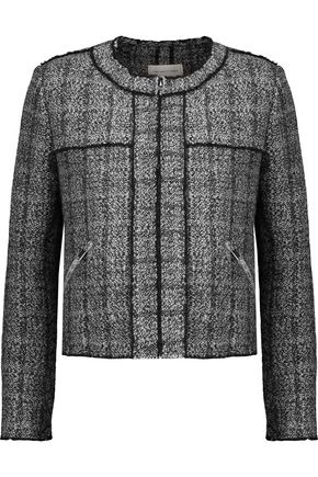 ISABEL MARANT ÉTOILE Laura frayed wool-blend bouclé  jacket
