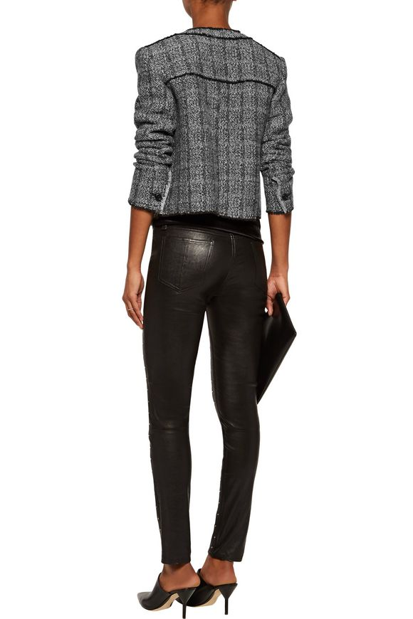 Frayed wool-blend bouclé jacket | ISABEL MARANT ÉTOILE | Sale up to 70% off  | THE OUTNET