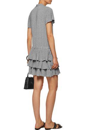 MARISSA WEBB Beverly ruffled modal-blend mini dress