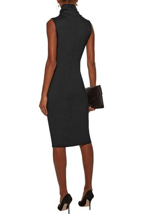 L'AGENCE Sydney ponte turtleneck dress