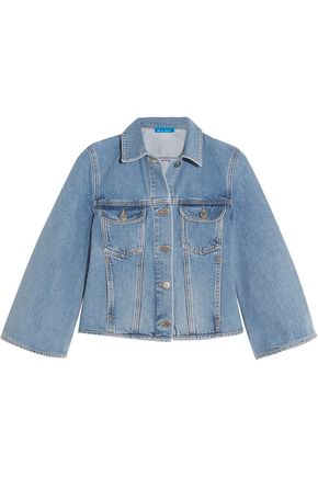 M.I.H JEANS Arch cropped denim jacket