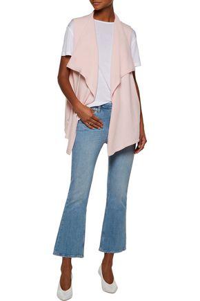 DUFFY Draped cashmere vest