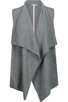 DUFFY Draped cashmere vest