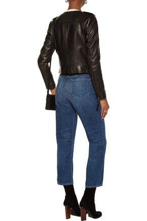 JOIE Benicia leather biker jacket