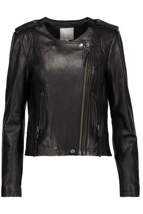 JOIE Benicia leather biker jacket
