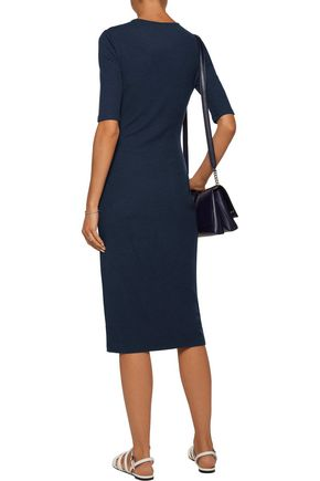 10 CROSBY DEREK LAM Lace-up stretch-knit dress