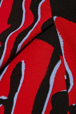 PROENZA SCHOULER Printed crepe mini dress